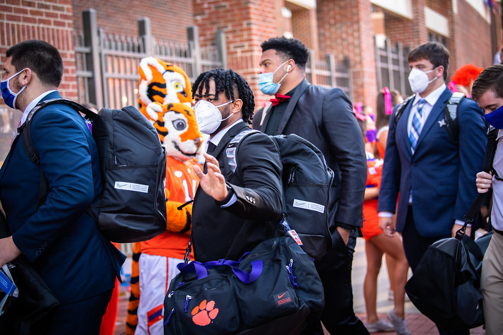 Clemson Photos: Darien  Rencher, tigerwalk, 2020, Football, Syracuse