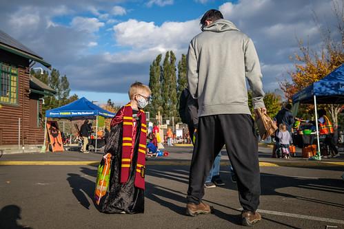 White Center Teen Program's Spooky Town 2020