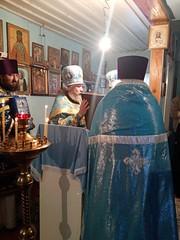 Престольный день в храме Иверской иконы пос. Отдалённый