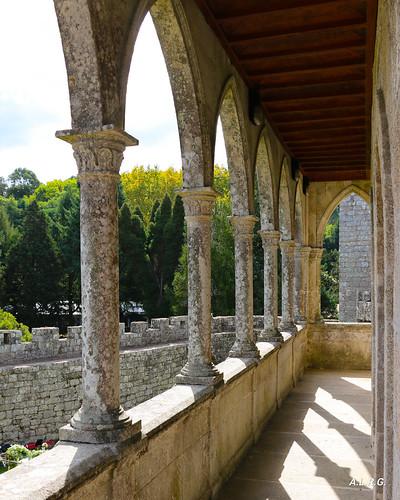 Balconada. Castelo de Soutomaior. Pontevedra