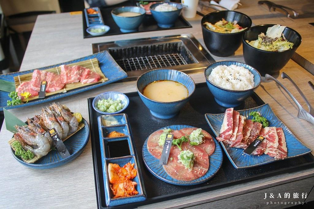 燒肉Smile (焼肉スマイル)。營業到凌晨4點的燒烤店,一個人也能享用的燒肉套餐 @J&A的旅行