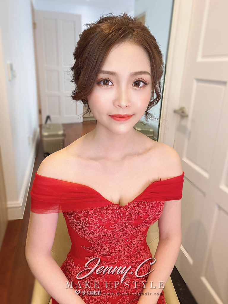 【新秘蓁妮】bride 怡臻 訂婚造型 /韓系女神