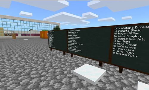 Minecraft Building Assignments by Wesley Fryer, on Flickr