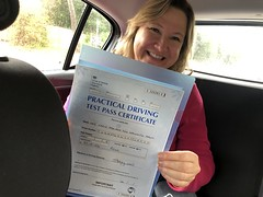 Massive congratulations  to Karin passing her driving test on her first attempt!!  www.leosdrivingschool.com  WARNING: Getting your license is a good achievement however being a SAFE driver for life is the biggest achievement!