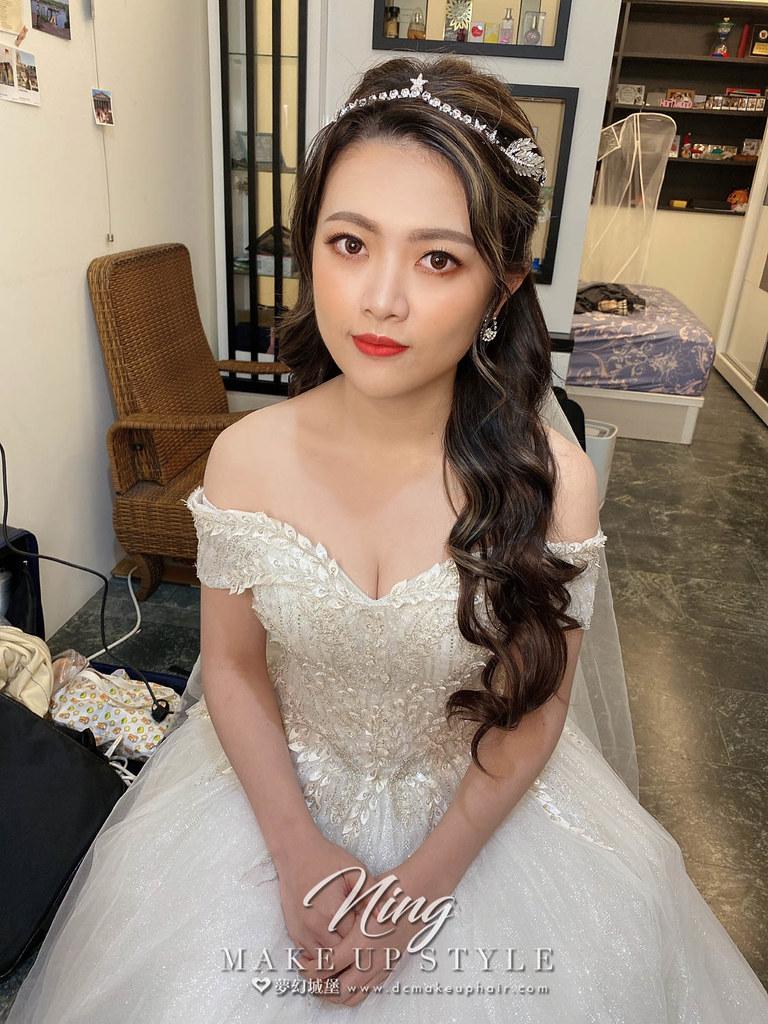 【新秘羽寧 】bride吟謙 結婚造型 / 浪漫白紗造型