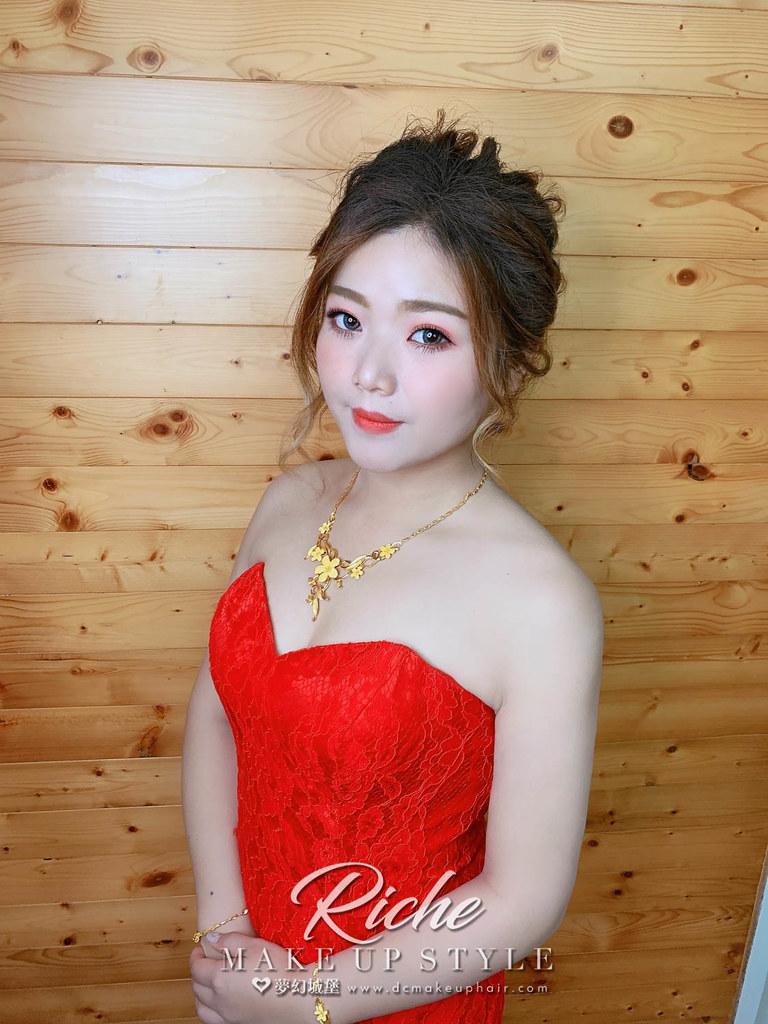 【新秘RICHE】bride星銀 訂婚造型 / 甜美仙氣