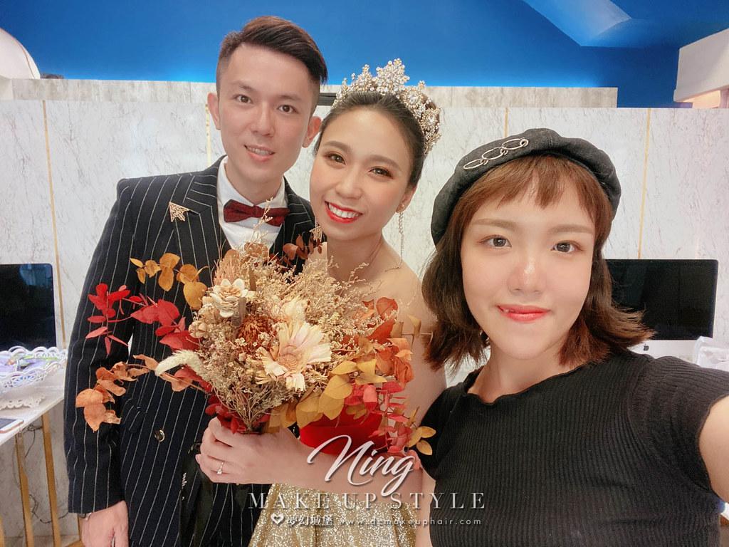 【新秘羽寧 】bride叔平 結婚造型 / 歐式公主