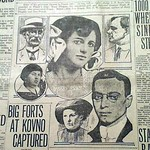 Newspaper cover of the Leo Frank Case (source and date unknown)