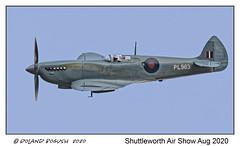 Photo of Perfect profile - Supermarine Spitfire PR Mk XI PL983