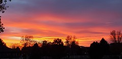 October 20, 2020 - A gorgeous sunset as seen from Broomfield. (David Canfield)