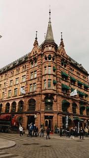Street corner of Karl Johans