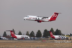 October 19, 2020 - Firefighting planes take to the skies. (Tony's Takes)