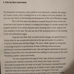 Description of the ADL propaganda documentary on the Leo Frank case (2009)