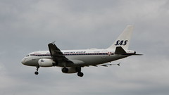 Photo of OY-KBO Airbus A319-132 SAS Scandinavian Airlines