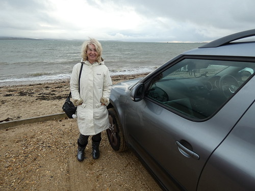 """Jayne at Lepe beach • <a style=""""font-size:0.8em;"""" href=""""http://www.flickr.com/photos/95373130@N08/50537330353/"""" target=""""_blank"""">View on Flickr</a>"""