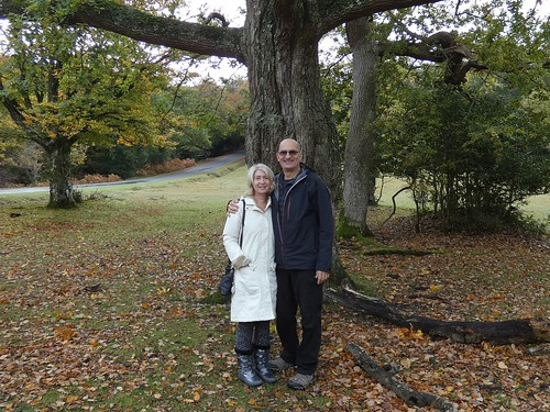 """Jayne & Jeremy at the Rufus Stone Oak tree • <a style=""""font-size:0.8em;"""" href=""""http://www.flickr.com/photos/95373130@N08/50537332483/"""" target=""""_blank"""">View on Flickr</a>"""