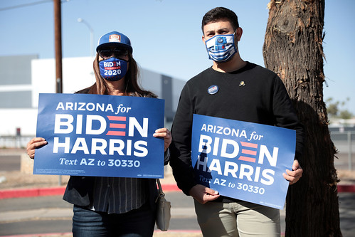Joe Biden supporters by Gage Skidmore, on Flickr