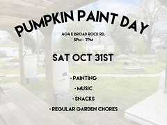 PUMKIN PAINT DAY 10/31 5-7PM We had so much fun painting at our craft day we bought it back but with a Halloween twist. 👻👻 @thediversedoula will be bringing some small pumpkins to paint and @briibeadsroyalty will be bringing small canvases so