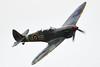 RAF Supermarine Spitfire two-seater T.9 trainer version MkIX PV202 G-CCCA 5R-H No 33 Squadron RAF