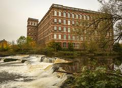 Photo of Wasterfall, Anchor Mill, Paisley,Scotland,UK