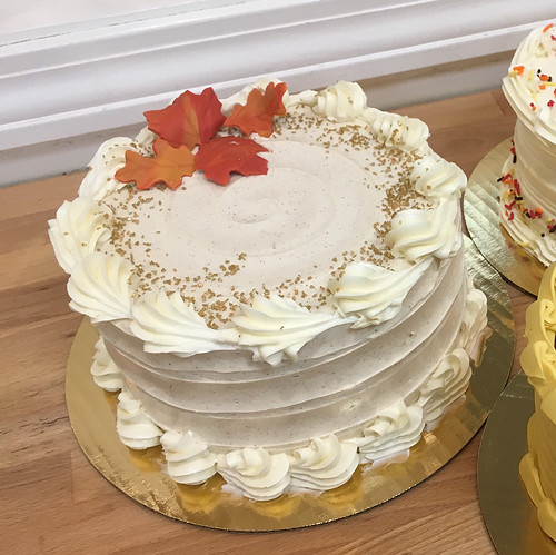 Pumpkin Spice Gourmet Cake copy