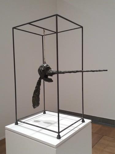 "Moderna Museet, Stockholm: Giacometti, ""Nose"" (""Le Nez"")"