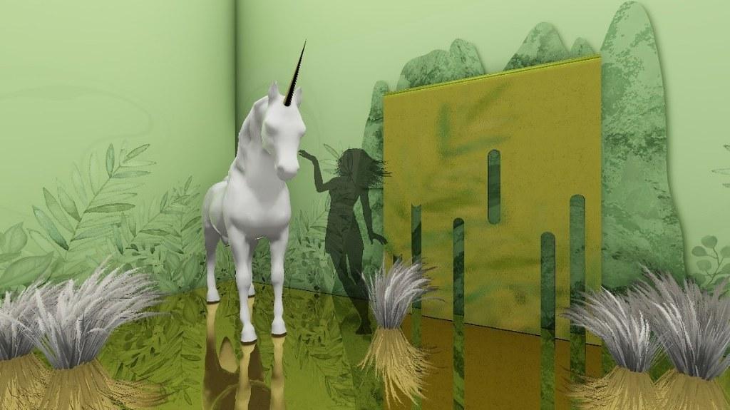 色廊2.0-秘境中的獨角獸 示意圖 -聯合數位文創 提供