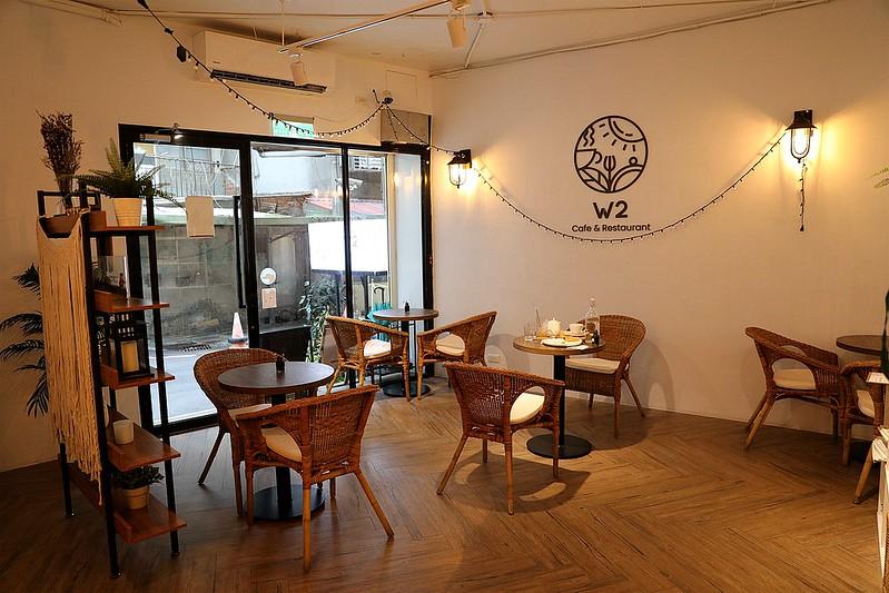 板橋江子翠W2 Cafe不限時咖啡廳網友下午茶餐廳216