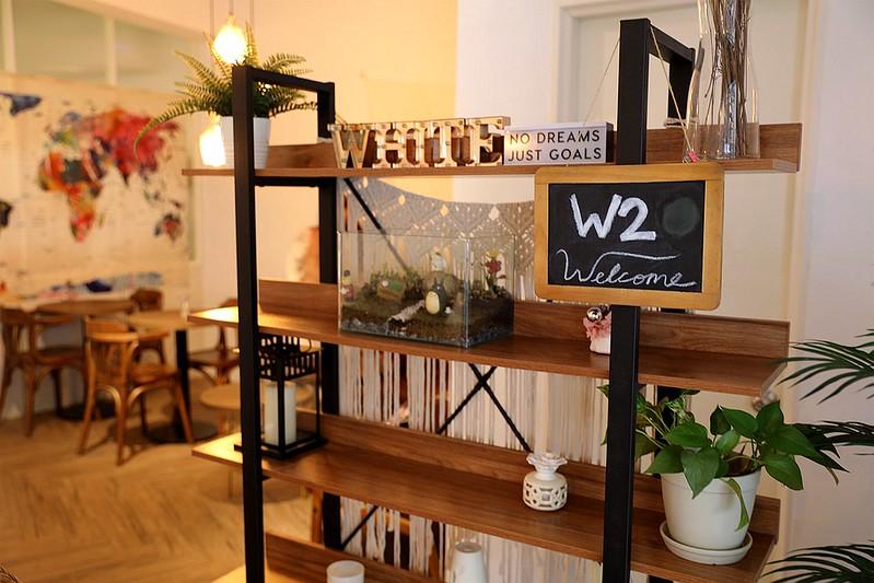 板橋江子翠W2 Cafe不限時咖啡廳網友下午茶餐廳016