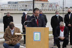 NTMWD signing ceremony