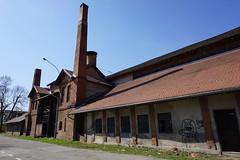 The old Zastava factory in Kragujevac