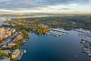 University of Washington and Portage Bay Fall Colors