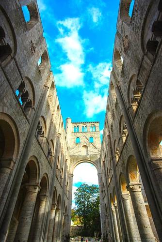 Abbaye dé Jumièges.