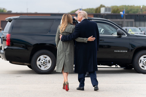 President Trump and the First Lady Depar by The White House, on Flickr