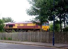 Photo of 66081 Market Rasen Station 4th August 2009