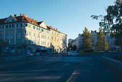 Traffic in Maribor city center