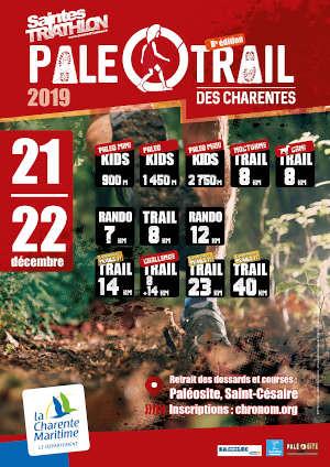 21 em compétition, Dimanche 22 décembre 2019, Paleotrail de Saint Cesaire, 15 km, 157em sur 342