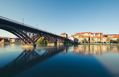 Old bridge in Maribor, Slovenia
