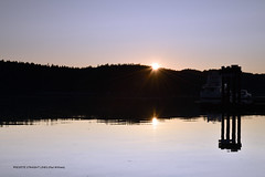 End of sunlight - Poets cover (British Columbia)  -  (Published by GETTY IMAGES)