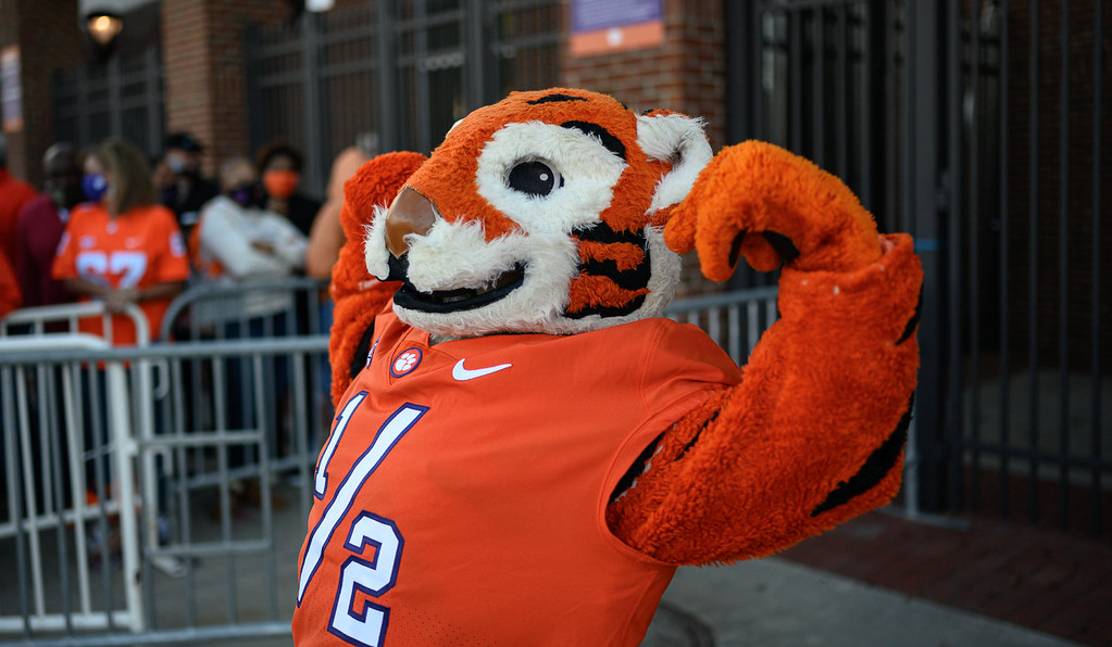 Clemson Photos: Tiger  Cub, 2020, Football, Boston  College