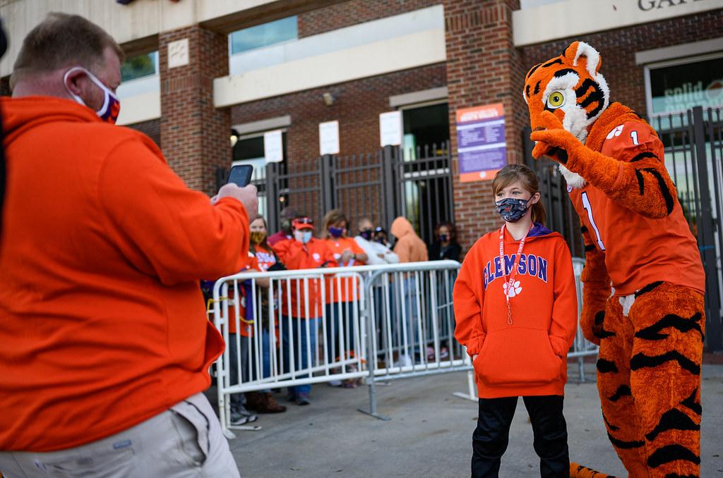 Clemson Photos: The  Tiger, tigerwalk, 2020, Football, Boston  College