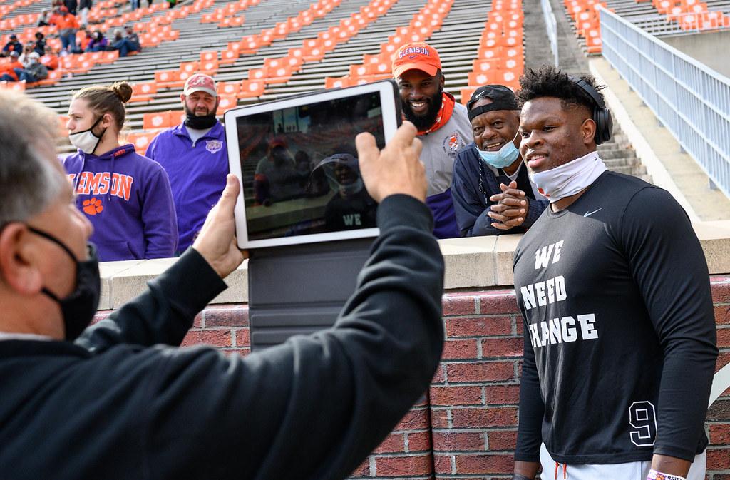 Clemson Photos: Myles  Murphy, 2020, Football, Boston  College