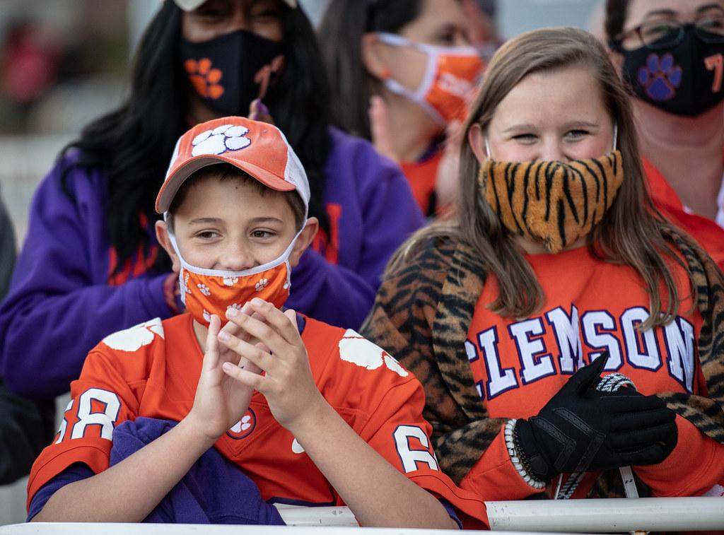 Clemson Photos: Fans, 2020, Football, Boston  College