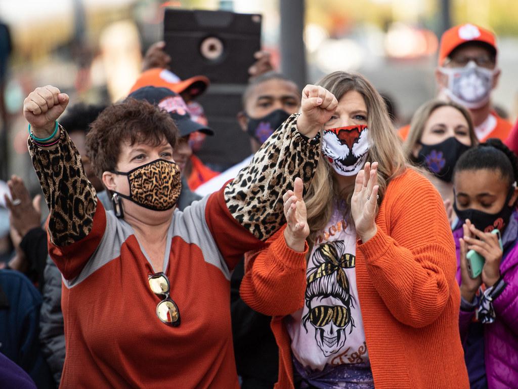 Clemson Photos: Fans, tigerwalk, 2020, Football, Boston  College
