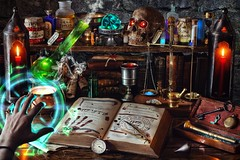 Halloween 2020: Wizard at Work
