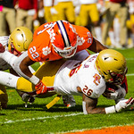 NCAA FOOTBALL 2020: Boston College at Clemson OCT 31