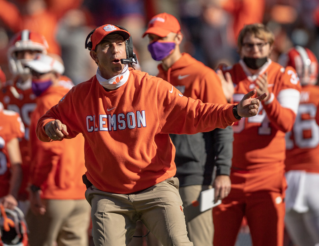 Clemson Photos: Dabo  Swinney, 2020, Football, Boston  College