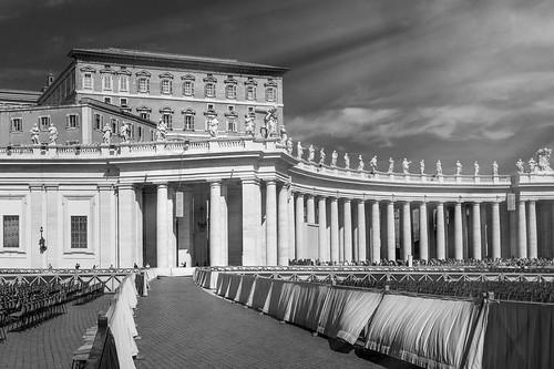 Apostolic Palace / Palazzo Apostolico, Vatican City