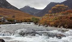 Photo of An autumn day in Glen Sannox, Isle of Arran,North Ayrshire ,Scotland. 30/10/20