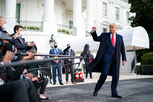 President Trump Boards Marine One by The White House, on Flickr